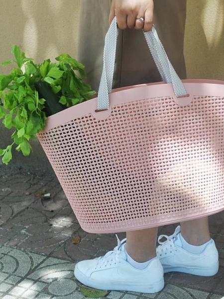 新款手提購物籃子野餐
