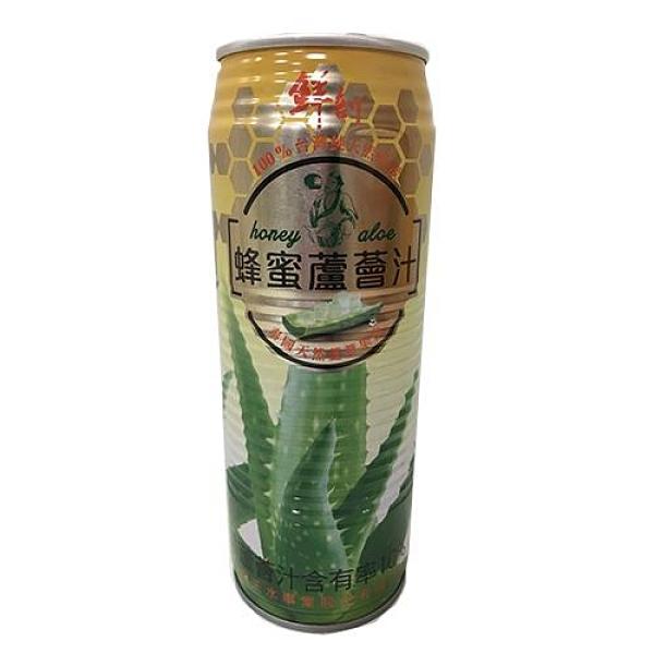 鮮剖蜂蜜蘆薈汁520ml*3【愛買】