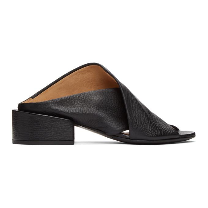 Marsell 黑色 Sbucciata 凉鞋