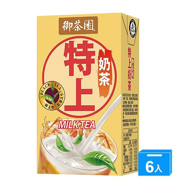 御茶園特上奶茶250ml x 6【愛買】