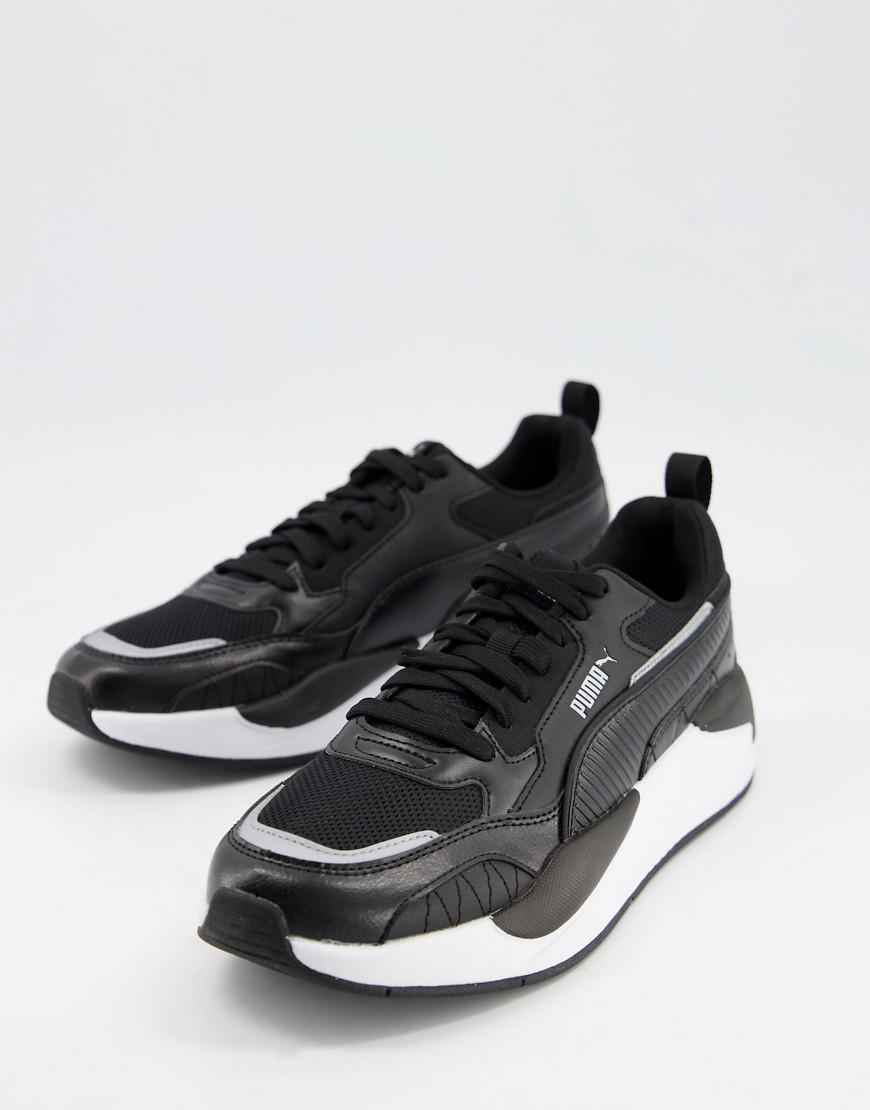 Puma X-Ray 2 Square trainers in black