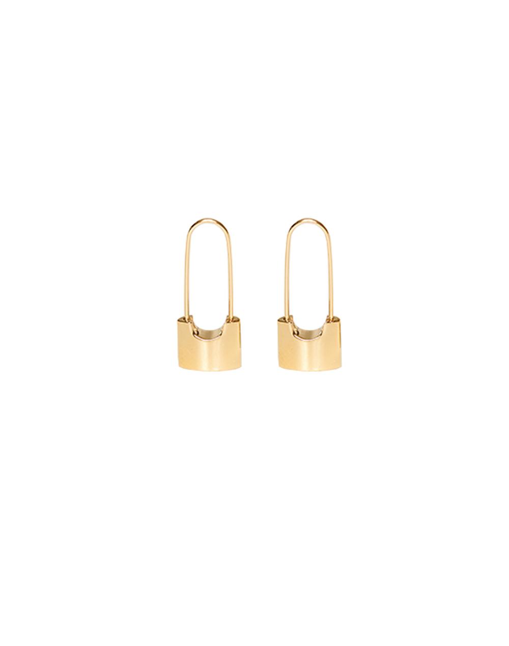 Paperclip earring-YUYU