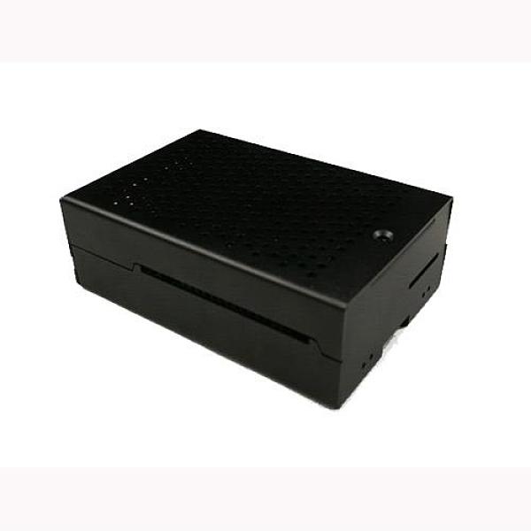 樹莓派Raspberry PI 4 B版 專用鋁製殼+風扇 黑色