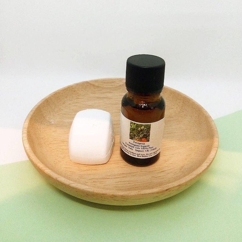 純植物精油(苦橙葉)配包點造型擴香石