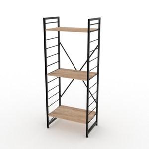 組 - 特力屋萊特 組合式層架 黑框/淺木紋色 60x40x158cm