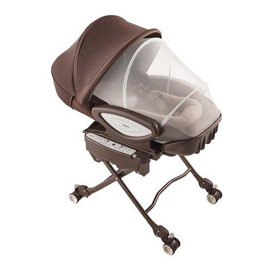 Aprica愛普力卡 YuraLism AUTO Premium Plus 動餐搖椅/餐搖床-天鵝堡