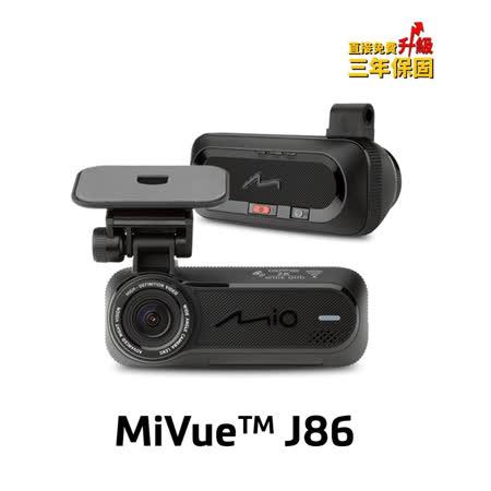 Mio MiVue J86 2.8K SONY Starvis感光元件WIFI測速隱藏式行車記錄器(3M黏貼支架)
