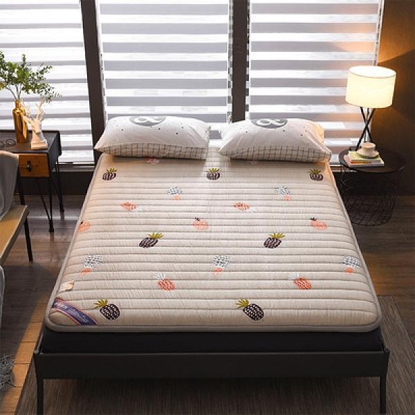 充氣床墊 全棉粗布加厚打地鋪神器家用防滑地鋪睡墊可折疊單雙人榻榻米床墊