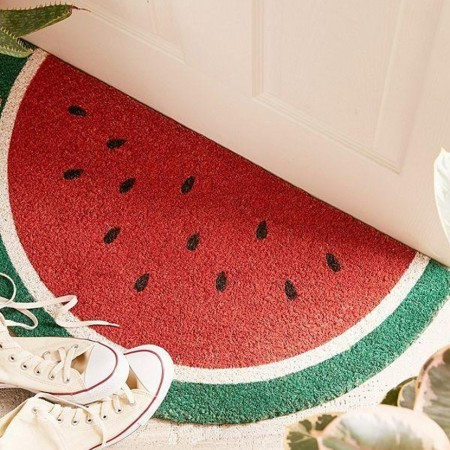 【 SUNNYLIFE 】 西瓜造型腳踏墊
