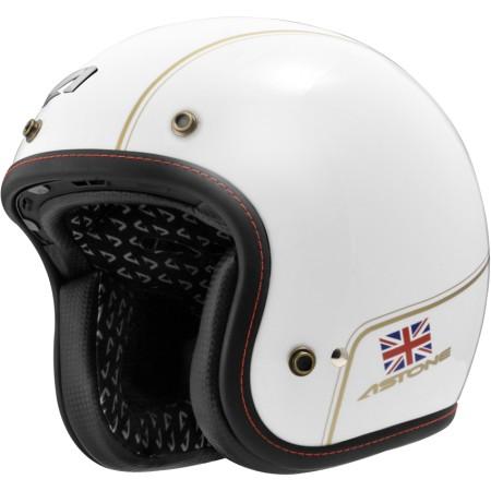 ASTONE SPORSTER II 安全帽 VV70 白金 碳纖維 復古帽 半罩 法國品牌《淘帽屋》