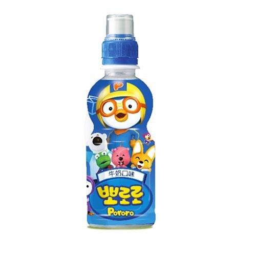 韓國paldo啵樂樂乳酸飲料235ml(牛奶)【愛買】
