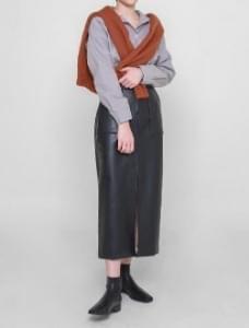 韓國空運 - Boyle leather skirt 裙子