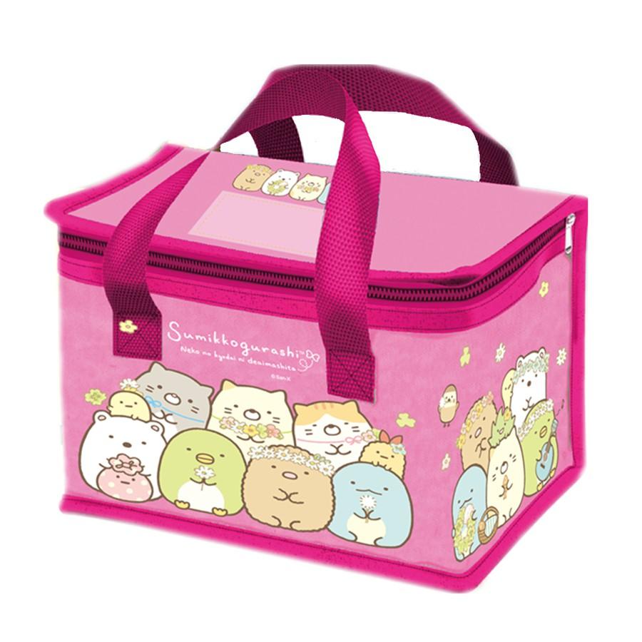 Sumikko Gurashi 角落生物-小夥伴 (拉鍊) 保溫午餐袋.便當袋 3款 4713077262047