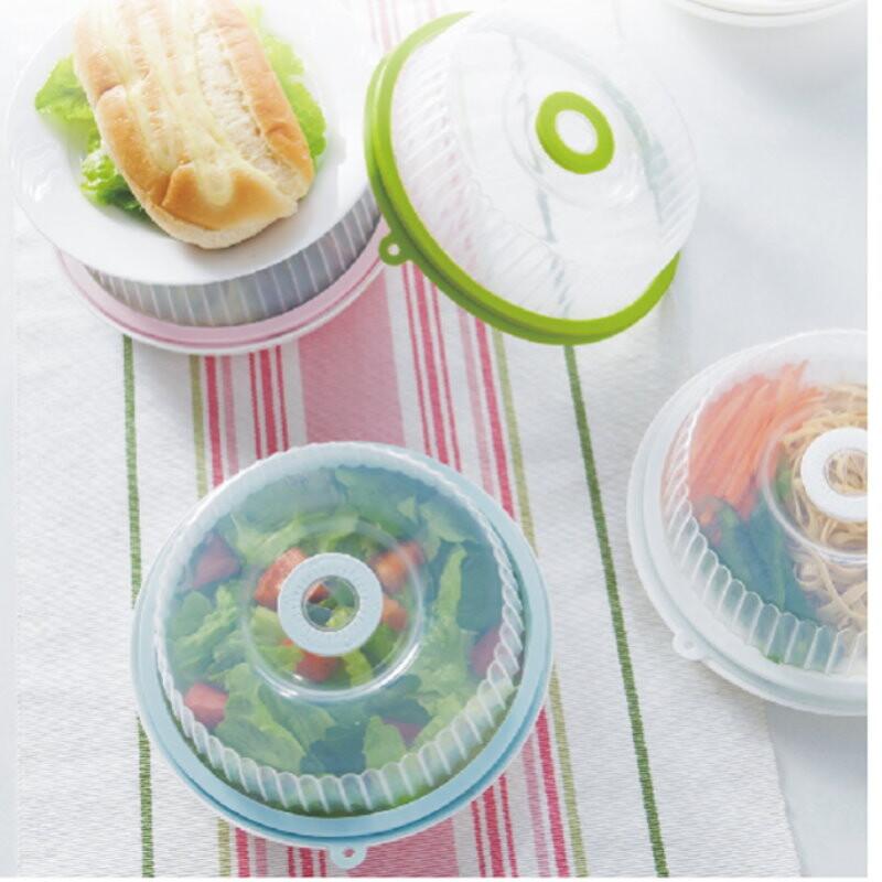 ge130密封碗蓋 廚房帶日期可堆疊密封蓋 冰箱保鮮蓋 微波蓋 碗盤蓋