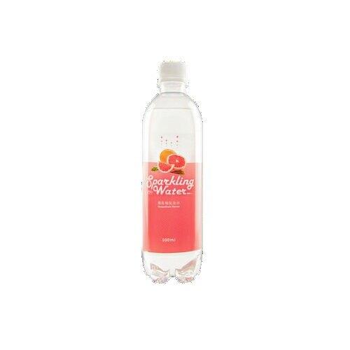 D618葡萄柚氣泡水500ML【愛買】