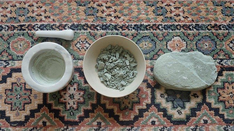 孵地/ 礦石土貝製作自己的顏料