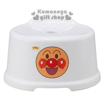〔小禮堂〕麵包超人 日製兒童浴室椅《白.有小小背靠輔助》