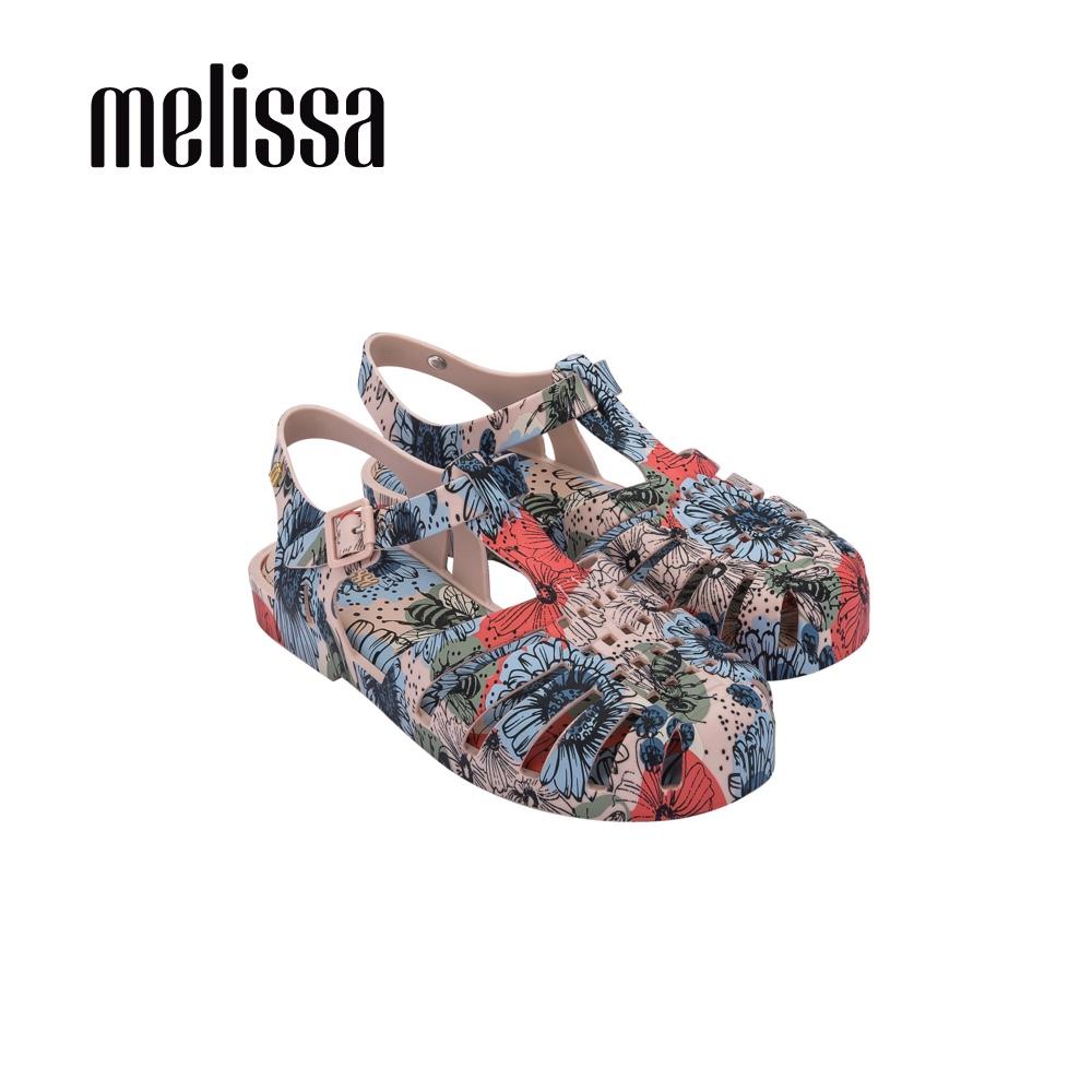 【Women】POSSESSION滿版印花漁夫鞋-藍紅(3334652410)