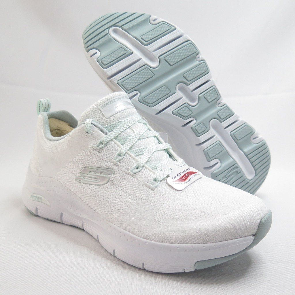 Skechers ARCH FIT-COMFY WAVE 女款 運動鞋 149414WMNT 白【iSport愛運動】