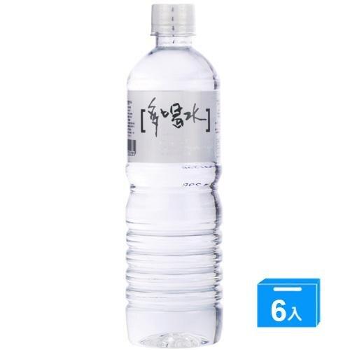 味丹多喝水600ml*6入【愛買】
