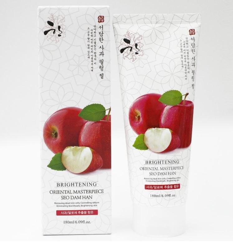 韓國 SDH 蘋果酵素去角質凝膠 180ml 臉部專用