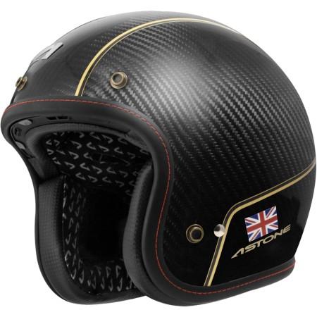 ASTONE SPORSTER II VV70 碳纖維 復古帽 半罩 安全帽 (法國品牌)《淘帽屋》
