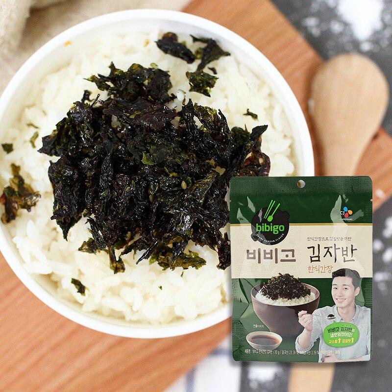 韓國 CJ bibigo 韓式醬油風味海苔酥 20g【庫奇小舖】