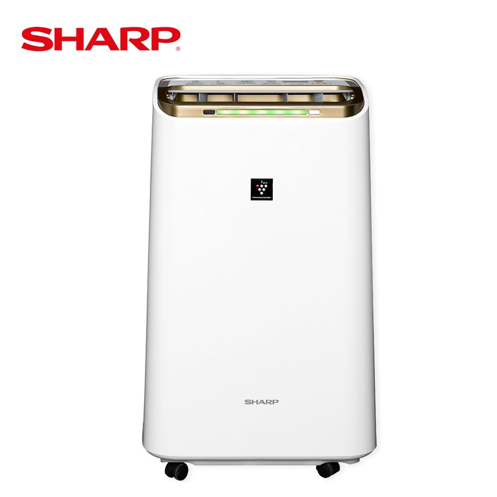 【SHARP 夏普】12L 自動除菌離子除濕機 DW-L12FT-W