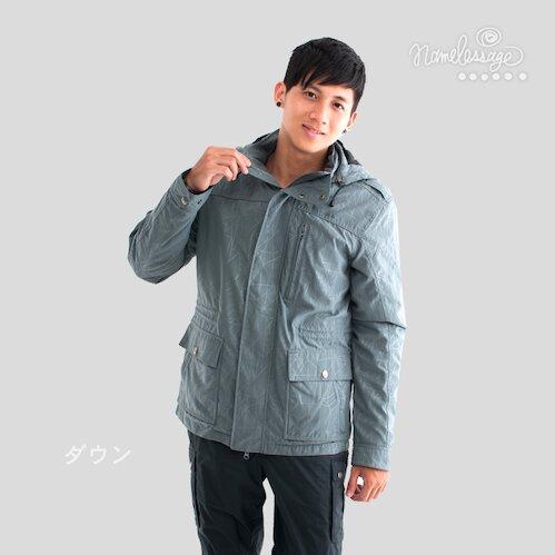 【NLG無名世代】男款繞體式羽絨保暖外套 NLG12M20