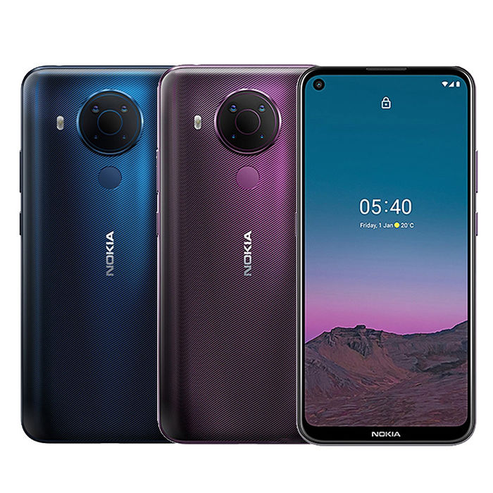 Nokia 5.4 6GB/64GB 6.39吋 雙卡雙待 智慧機(贈自拍桿+Type C線等5好禮)沉靜藍