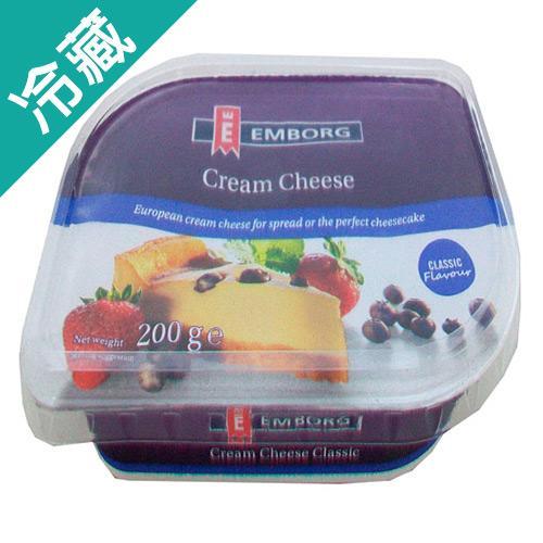 安博格軟式奶油乾酪200G /盒【愛買冷藏】