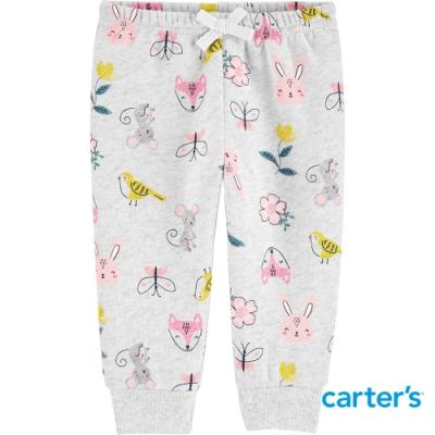 【Carter s】微笑森林小動物長褲 (6M-24M) (台灣總代理)