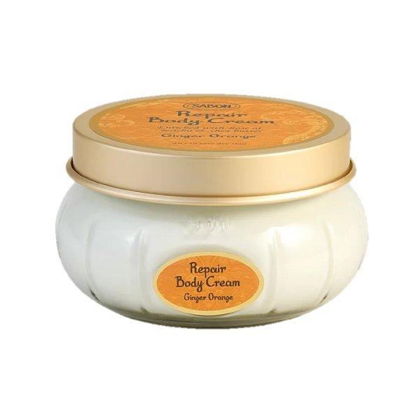 SABON 身體保濕潤膚霜 罐裝 200ML 西西里柑橘 茉莉花語 白茶 經典 以色列綠玫瑰 黑皮TIME