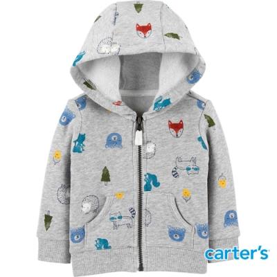【Carter s】森林小動物長袖外套 (12M-24M) (台灣總代理)