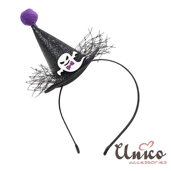 UNICO 新款萬聖節變裝派對髮箍-鬼造型