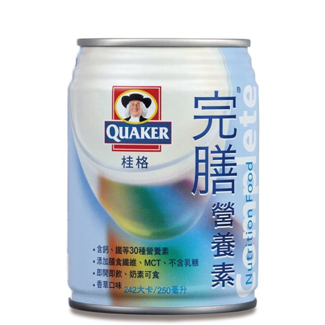 桂格完膳營養素24入(香草口味)-箱購-箱購