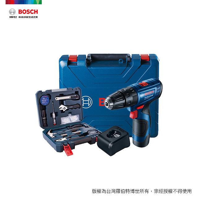 BOSCH 12V 鋰電震動電鑽/起子機手工具配件套裝 GSB 12V-66