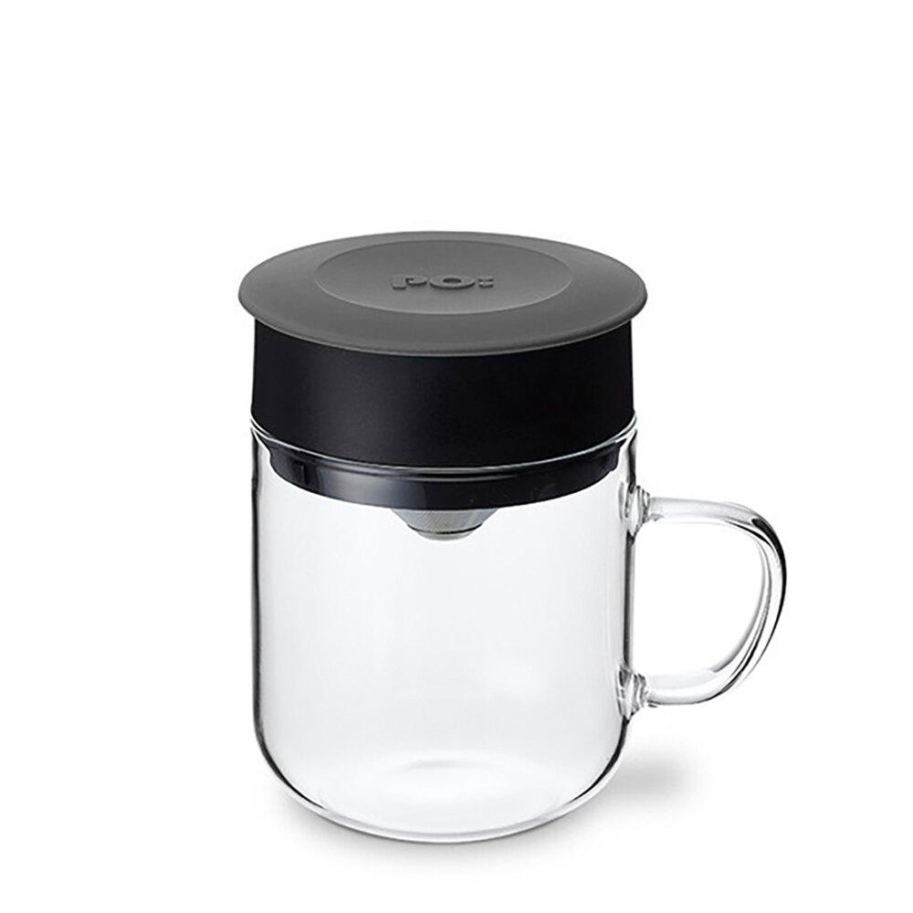 【PO:Selected】丹麥研磨過濾咖啡玻璃杯240ml (共5色)