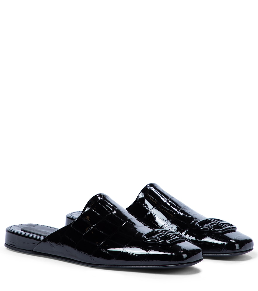 Cosy BB patent leather slippers