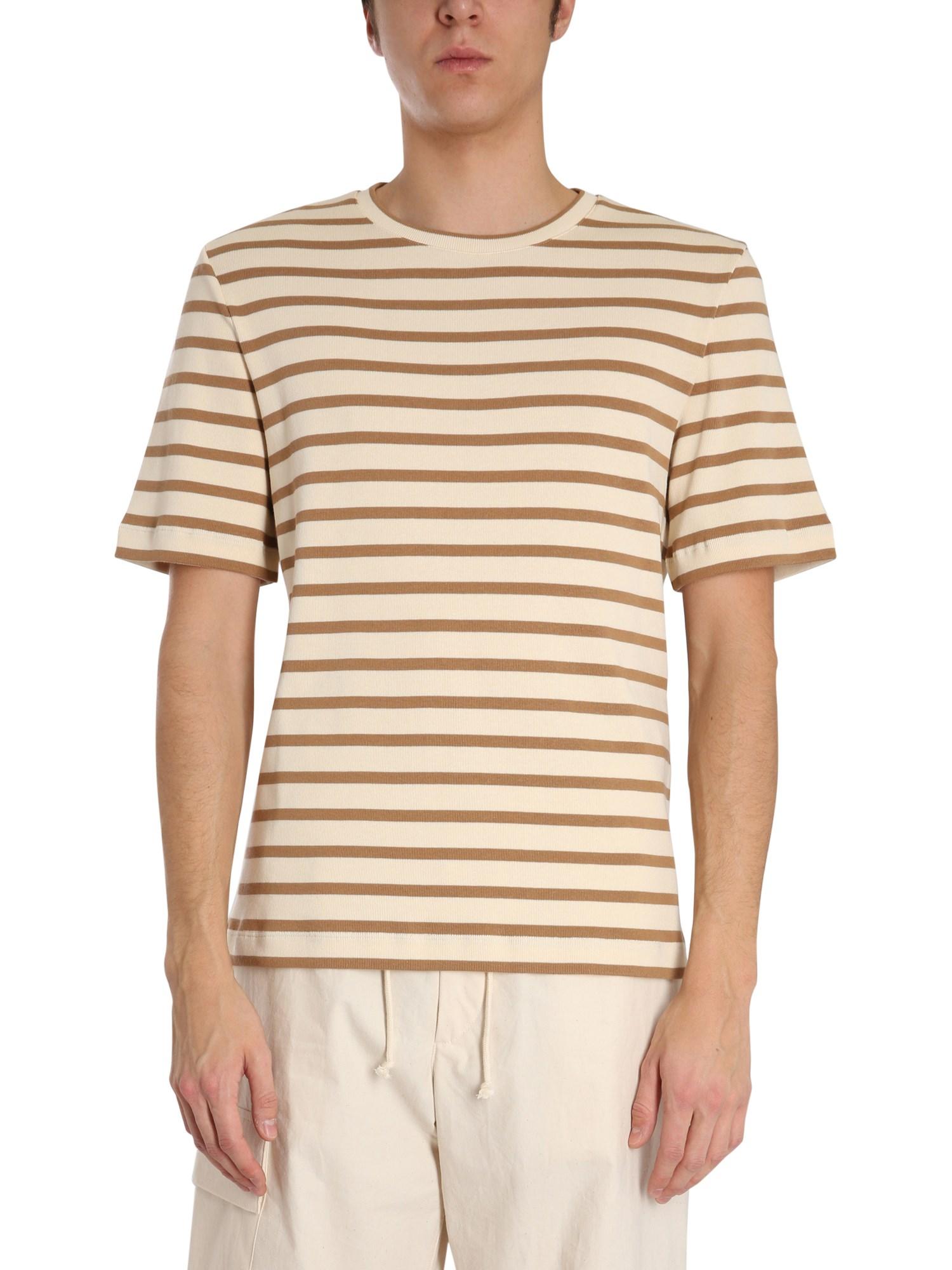 jil sander striped t-shirt
