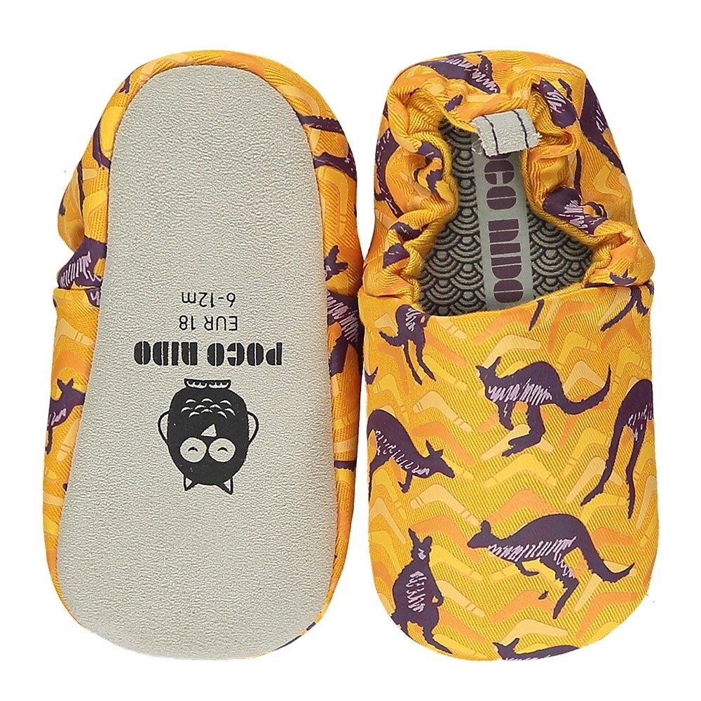 【英國 POCONIDO 】2021新款-手工嬰兒鞋 (跳跳袋鼠)