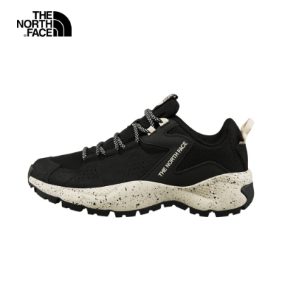 The North Face北面女款黑色抓地耐磨戶外休閒鞋 4O97LQ6