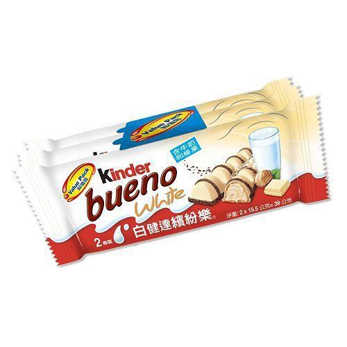 健達繽紛樂白巧克力39g*3入【愛買】