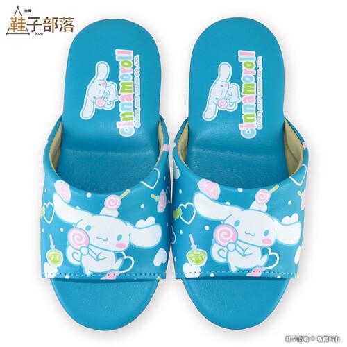 鞋子部落兒童室內拖鞋 大耳狗 cn0294 藍