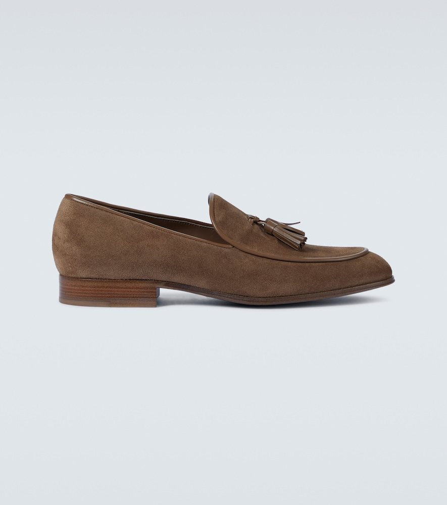 Julio suede loafers