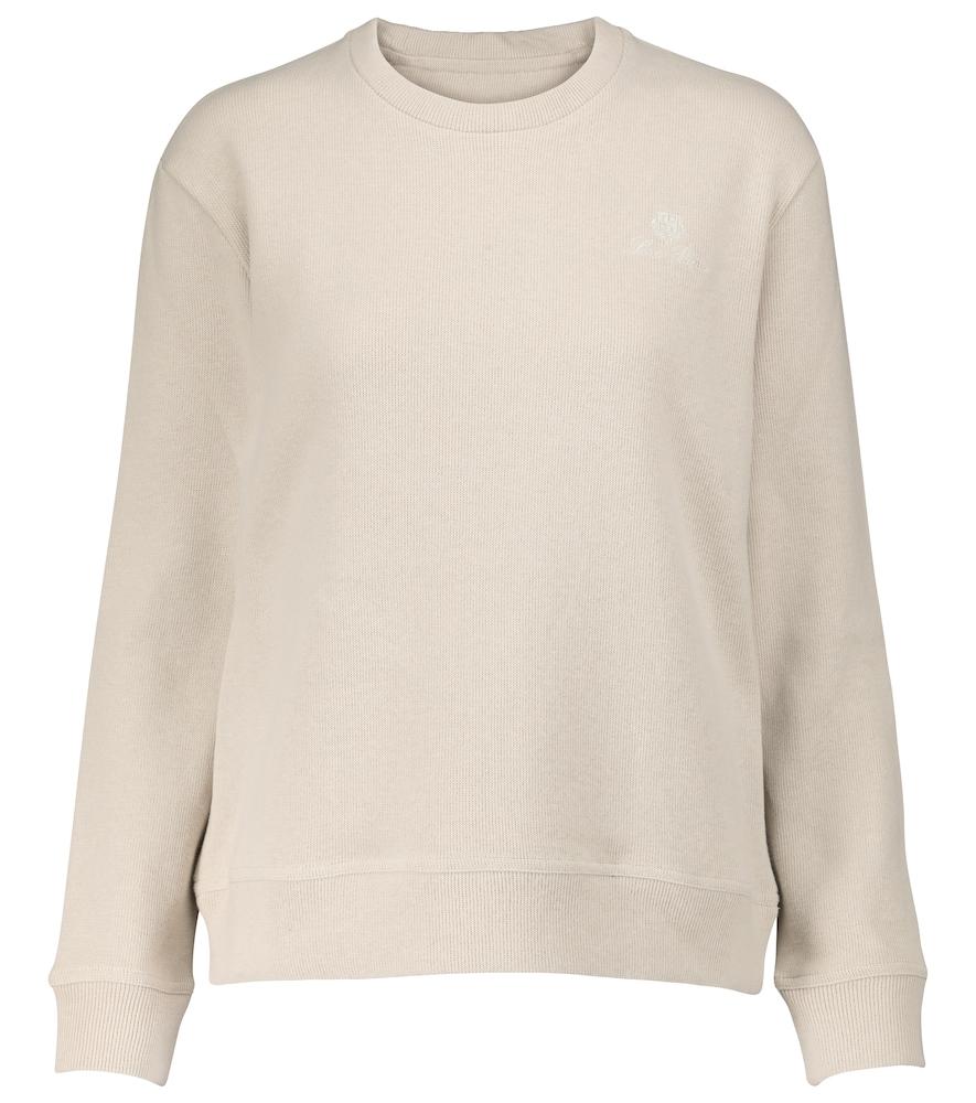 Horsey cotton sweatshirt