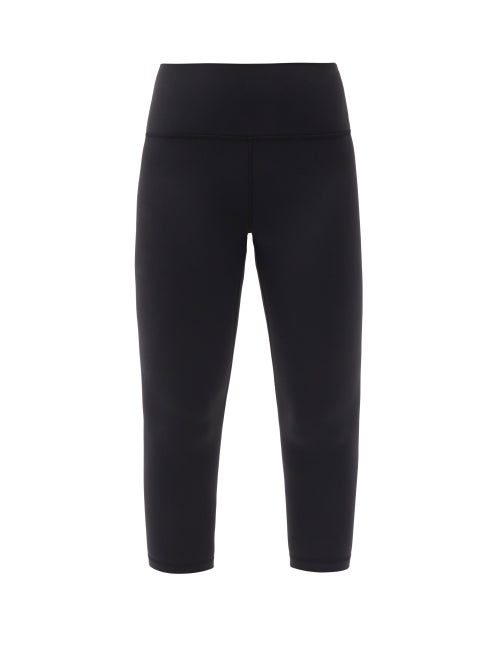 "Lululemon - Align High-rise 21"" Cropped Leggings - Womens - Black"