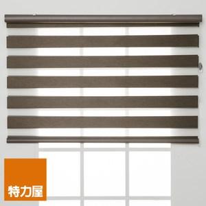 特力屋 防焰可調光遮光捲簾 90x185cm 咖色