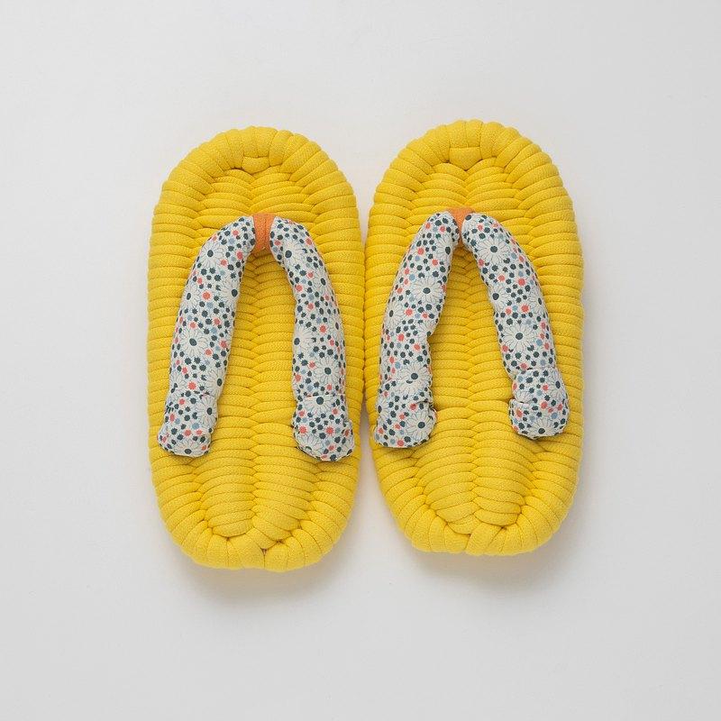 兒童拖鞋【黃色】