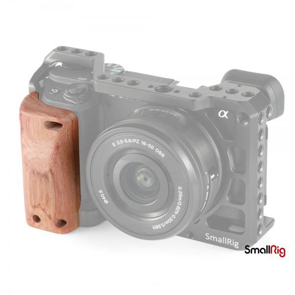 SmallRig 斯莫格2310專用手握 適用於索尼 Sony A6400兔籠木質手柄握感舒適2318